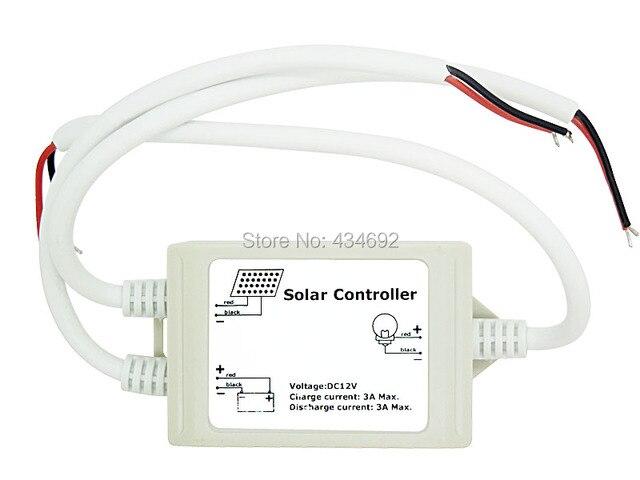 Pannello solare regolatore di carica v dc ha condotto l