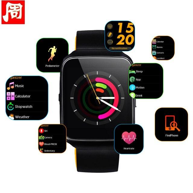 523c7c8aea8 Nova Z40 Relógio Inteligente Monitor de Pressão Arterial Do Bluetooth  Freqüência Cardíaca Smartwatch Chamada Lembrete Mensagem