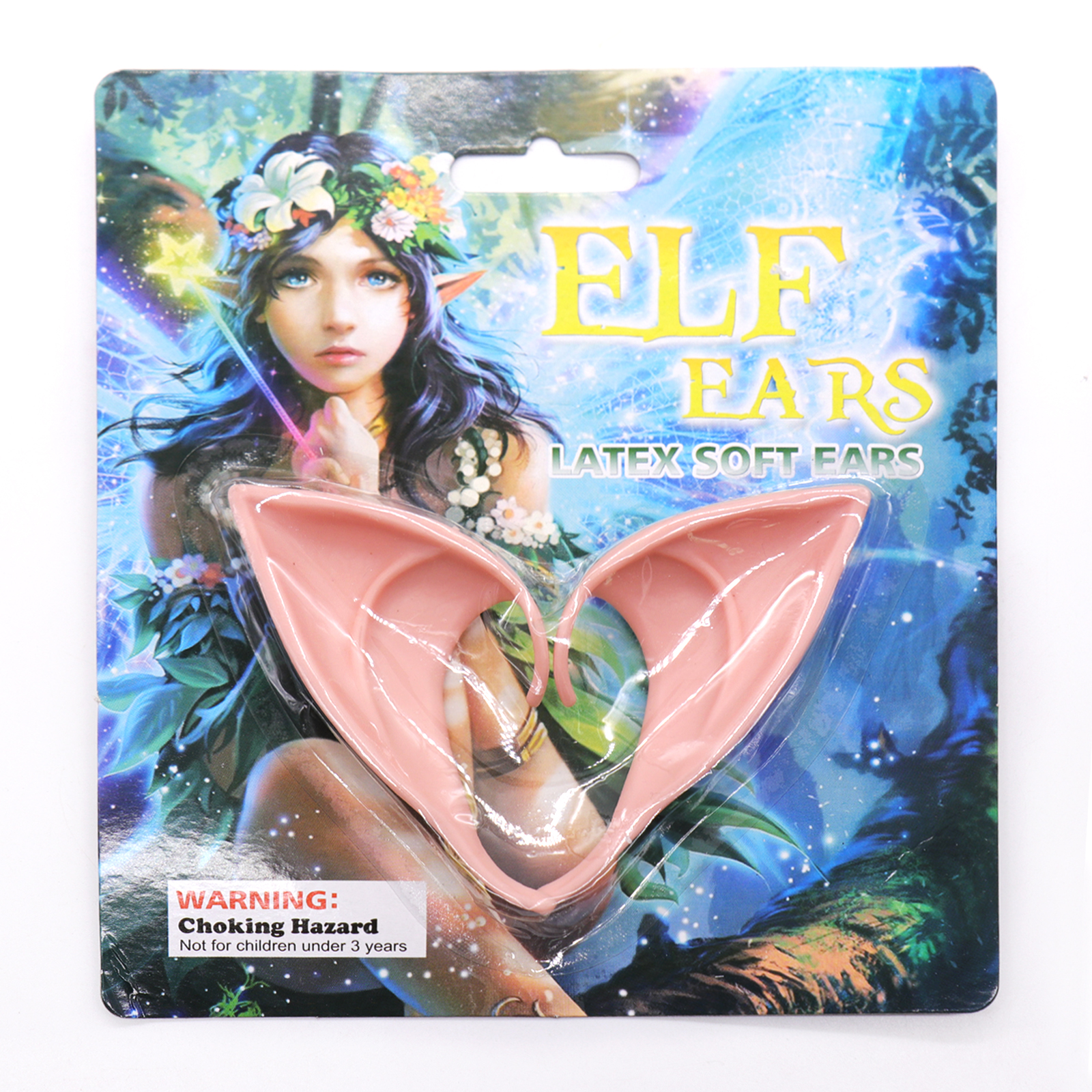 Halloween Elf Mask Party Props Fairies Ear COS Fake Ears with Elf Ear COS Prop Party Fake Ear Vampire Fantasy City