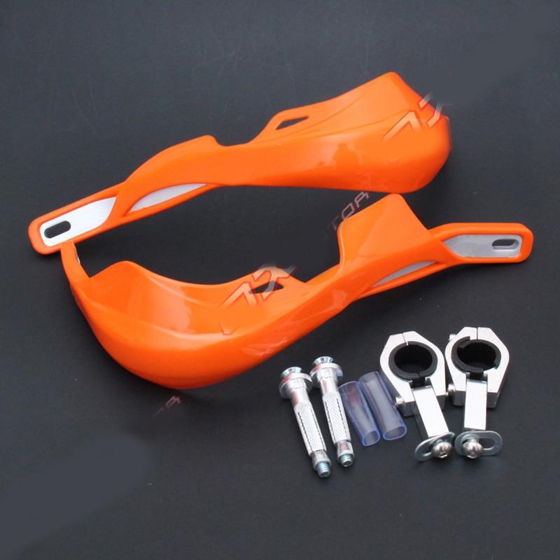 28mm Riducendo Sciopero di Protezione Mano Pole Cross Country Moto Modificato Alluminio Cappuccio Scudo Pendente Accessori