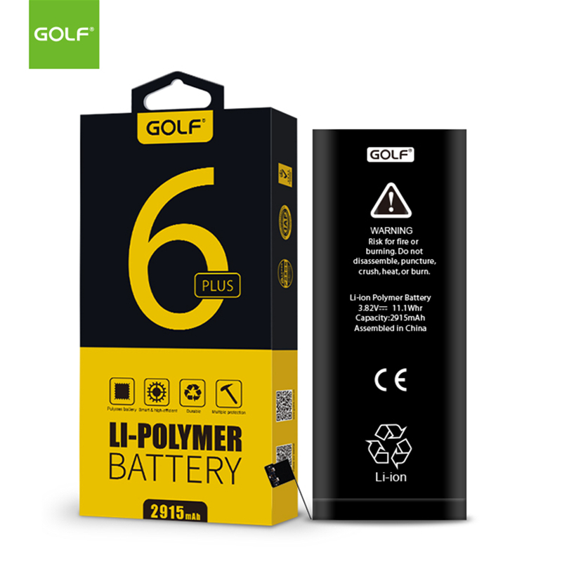 GOLF 2915mAh New Original Battery For iPhone 6 Plus Replacement Batteries For iPhone6 Pl ...