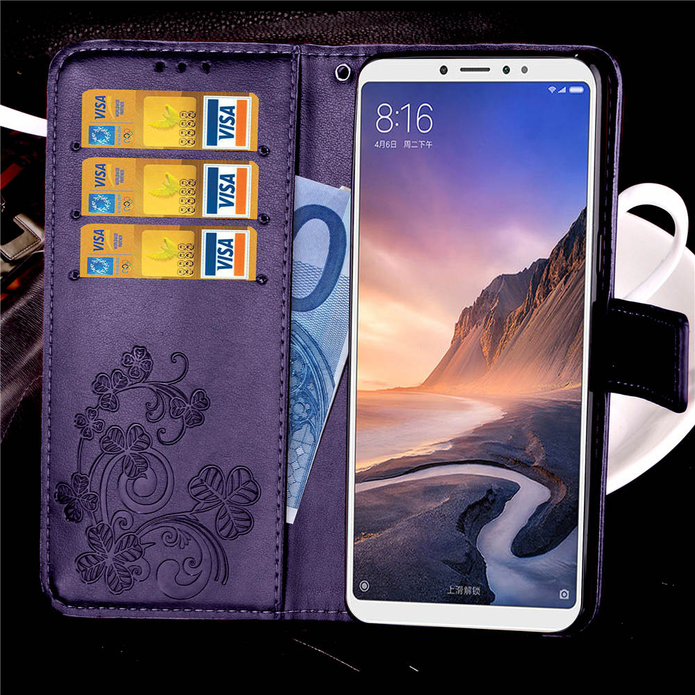 Smartphone <font><b>Case</b></font> For <font><b>Xiaomi</b></font> <font><b>Mi</b></font> Max 3 <font><b>Case</b></font> <font><b>Mi</b></font> MAX3 Wallet Flip <font><b>Case</b></font> Luxury Leather Cover For Coque <font><b>Xiaomi</b></font> <font><b>Mi</b></font> Max 2 <font><b>Max2</b></font> Cover <font><b>Case</b></font> image