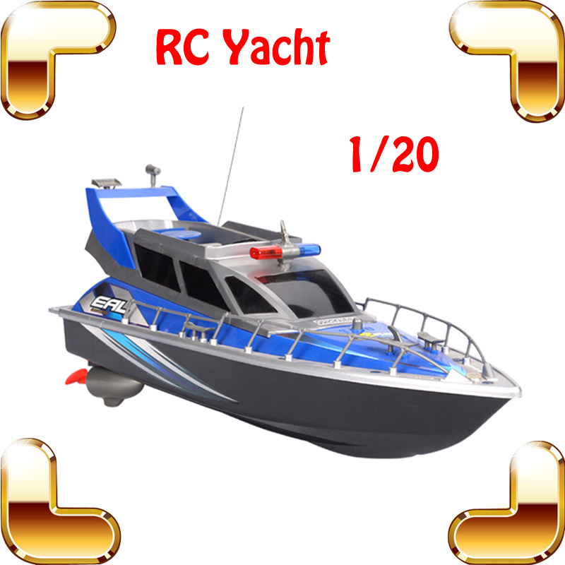 Summer Gift 1/20 4CH RC Speedboat Electric Model Ship Remote Control Toys Machine Airship Racing Boat Home Decoration Sea Fun free shipping voyager 2 4g mini rc sailboat sailing electric ship model yacht handmade boat toys children gift