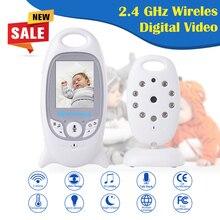 Infant 2.4GHz Wireless Baby Radio Babysitter Digital Video Baby Monitor Audio Night Vision Music Temperature wireless camera HIK