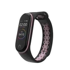 Image 5 - Sport Mi bande 4 3 Bracelet en Silicone bracelet pour Xiaomi mi bande 3 Bracelet de sport pour Mi bande 4 3 band4 bracelet de montre intelligente