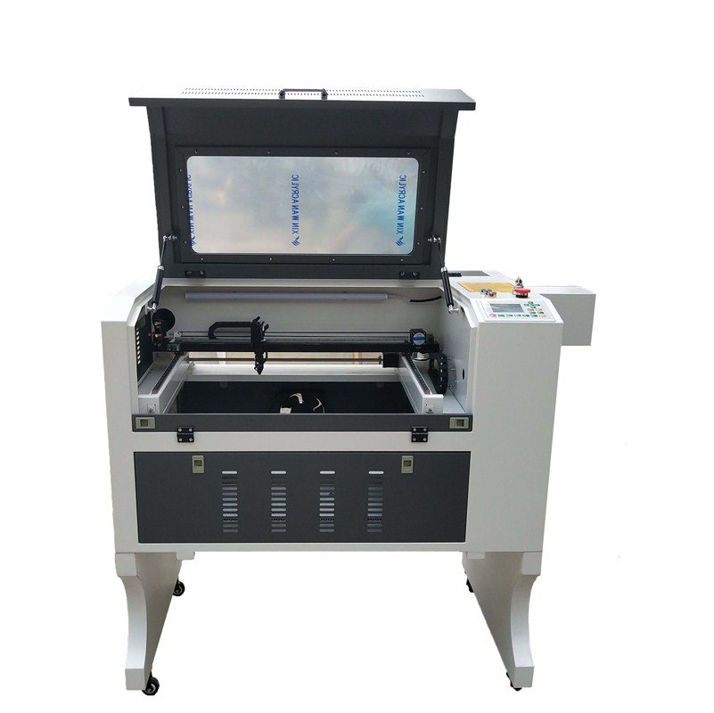 50W 60W 80W 100W 4060 CO2 Wood CNC Laser Cutter Machine , 3d Laser Cutter Machine For Plastic , Leather , MDF , Acrylic