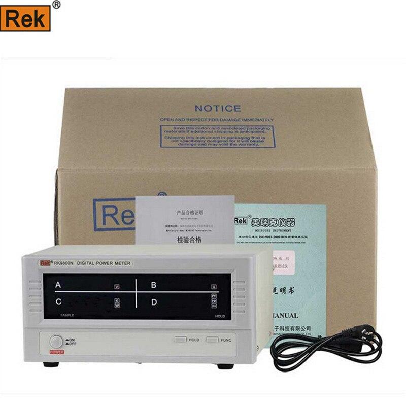 No Rf Digital Electric Meter : Rek rf n digital power meter measuring va pf w
