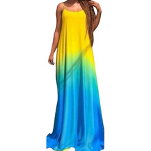 Summer Clothes for Women Tie Dye Dress 2019 Women's Sexy Sling Fashion