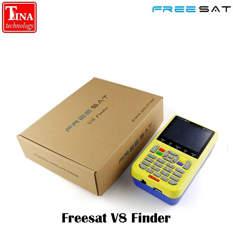 100% Original Freesat V8 Finder HD DVB-S2 High Definition Satellite Finder MPEG-2 MPEG-4 Freesat satellite Finder V8 original freesat v8 finder dvb s2 satellite finder high definition mpeg 4 v8 satellite meter finder