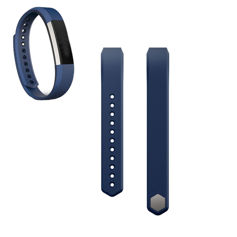 New Arrive 2018 Luxury Silicone Watch Replacement Classic Band Strap + Band Clasp For Fitbit Alta Wristband Bracelet