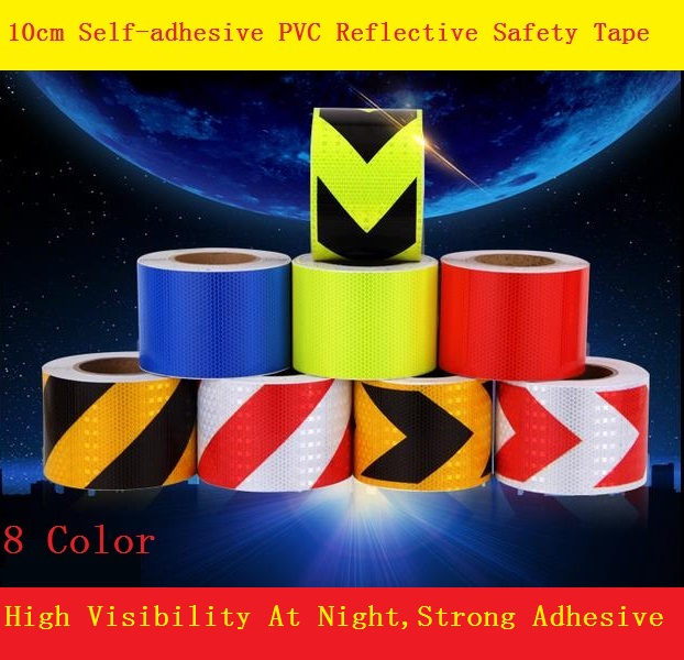 Road Traffic Construction Site Self-adhesive High Light Reflective Safety Tape Arrow/Twill Warning Sign site forumklassika ru куплю баян юпитер