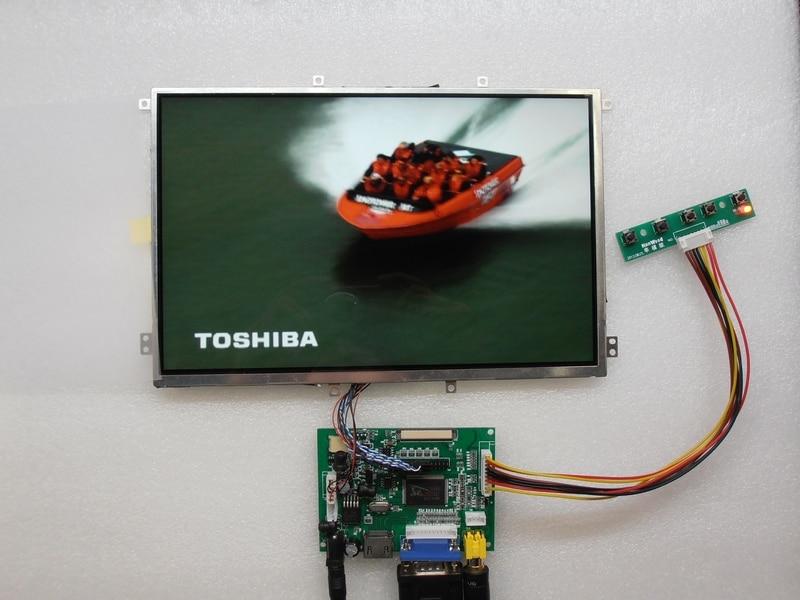 10.1 Inch 1280*800 IPS Monitor LCD Screen For Aida64 CPU GPU Computer System Sub Display Raspberry Pi Car Auto Backing Priority