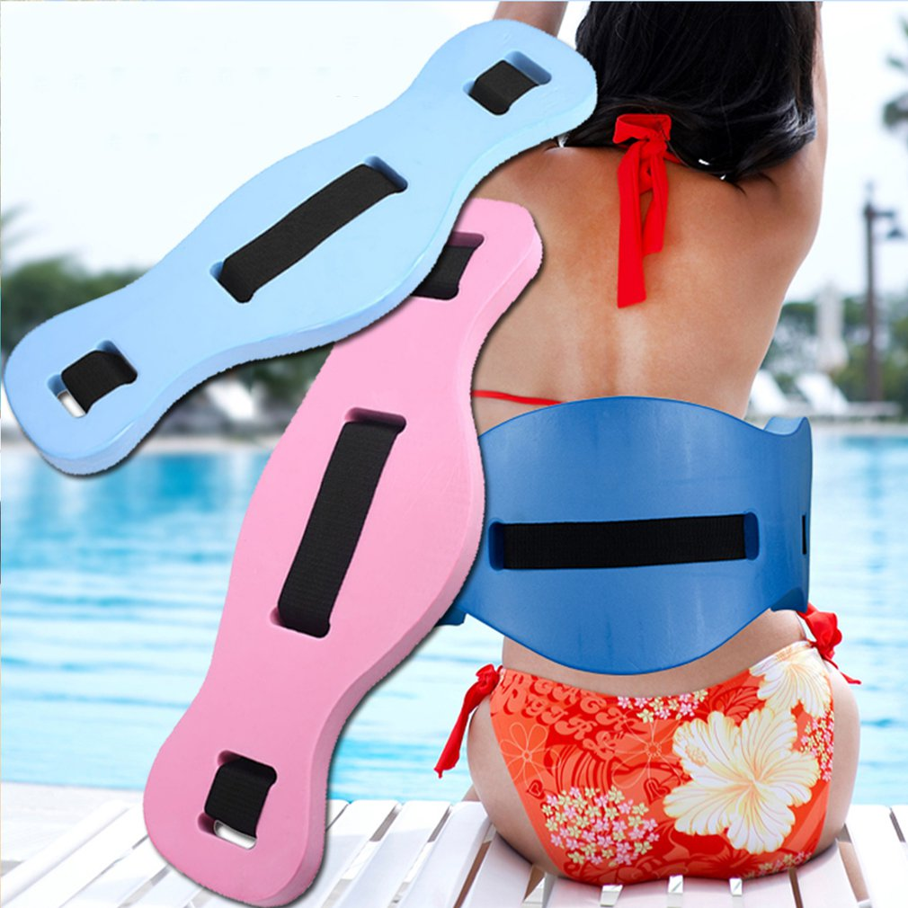 Porable EVA Adjustable Back Floating Foam Swimming Belt Waist Training Equipment Adult Children Tool Float Board