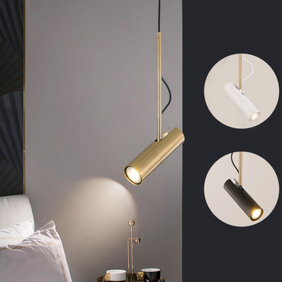 modern design pendant light LED Spot Light Fixture Nordic luminaire white/black bedside lamp hanging spotlight designer lightingmodern design pendant light LED Spot Light Fixture Nordic luminaire white/black bedside lamp hanging spotlight designer lighting