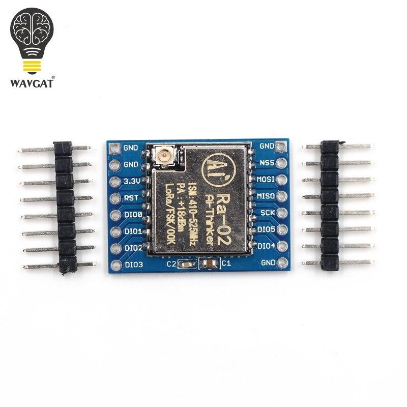 SX1278 LoRa Module 433M 10KM Ra-02 Ai-Thinker Wireless Spread Spectrum Transmission Socket for Smart Home DIY kit