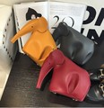 New Fashion Women Leather Handbags Casual Cross Body Cute Elephant Bags Girls Leisure Shoulder Messenger Bags 5 Colors