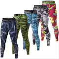 Mens Compression Thunder 3D Printed Mens Camouflage Tights Fitness Pants Bodybuilding Trousers