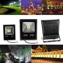 Led Flood Light Outdoor Spotlight Floodlight 10W 20W 30W 50W Wall Washer Lamp Reflector IP65 Waterproof Garden 220V RGB Lighting