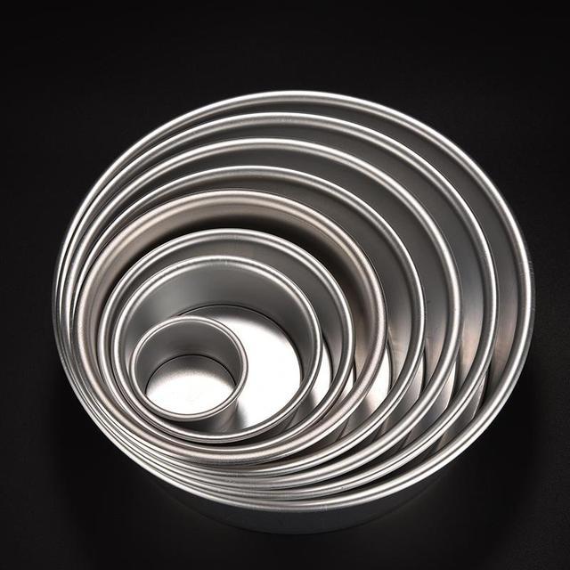 Round Cake Baking Tins 2 4 5 6 7 8 9 10 inch