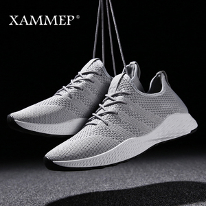 Image 5 - Men Casual Shoes Men Sneakers Brand Men Shoes Male Mesh Flats Loafers Slip On Big Size Breathable Spring Autumn Winter Xammep