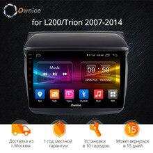 Ownice K1 K2 K3 octa 8 core android 9,0 dvd-плеер автомобиля для Mitsubishi L200 Trion 2007-2014 GPS автомобильный радиоприёмник стерео Поддержка DVR 4G