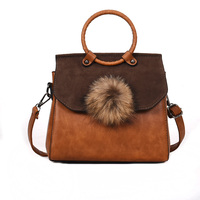 2018 New Winter Vintage Handbags Women Bag Designer Fashion Solid Shoulder Bags Lady PU Leather Messenger