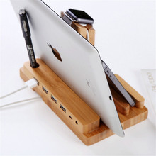 4 USB Port Charging Dock Station For Apple Watch/iPhone/iPad/iWatch