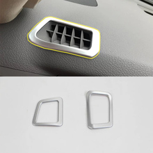 Car Accessories Interior Decoration ABS Front Upper Air Vent Outlet Cover Trims For Toyota Land Cruiser 2016 Car Styling цены