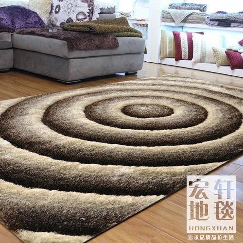 Tapis salon tapis 3d en trois dimensions moderne soie qualité douce leugth personnaliser