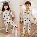 kacakid Autumn Winter Fashion Kids Baby Boys Girls Rabbit Ear Clothing Set Bebes Pajama Sleeping Wear Clothes Suits
