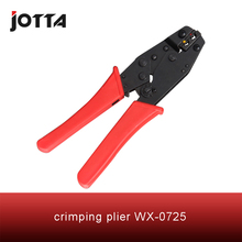 WX-0725 crimping tool plier 2 multi tools hands Ratchet Crimping Plier (European Style)