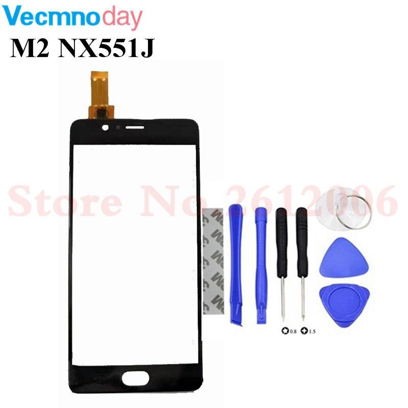 Touchscreen Digitizer Für ZTE Nubia M2 NX551J Digitizer Touchscreen Sensor Front Glas + Werkzeuge