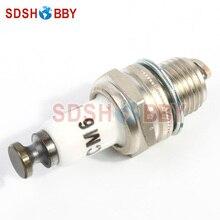 Rcexl CM6 10mm Spark Plug Used for Gas Petrol Engine DLE30 DLE55 DLE111 DLA56 DLA32 DLA112