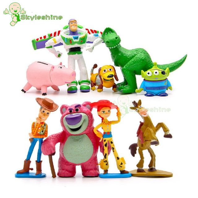 Skyleshine anime Toy Story 3 Buzz Lightyear Woody Jessie