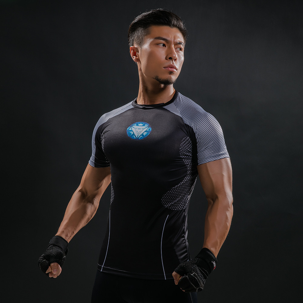 Punisher 3D Printed T-shirts Men Compression Shirts Long Sleeve Cosplay Costume crossfit fitness Clothing Tops Male Black Friday 74