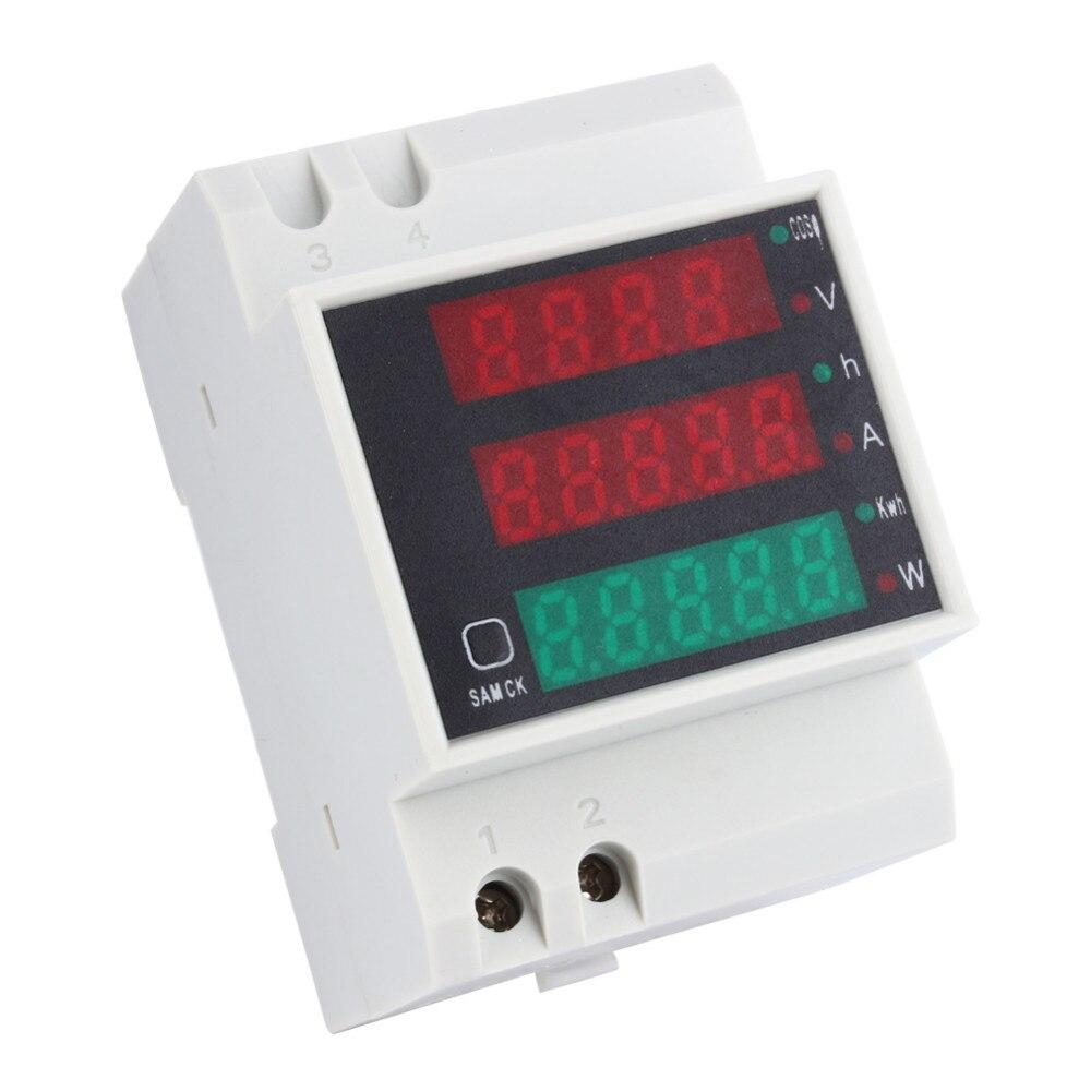 din digital ammeter power