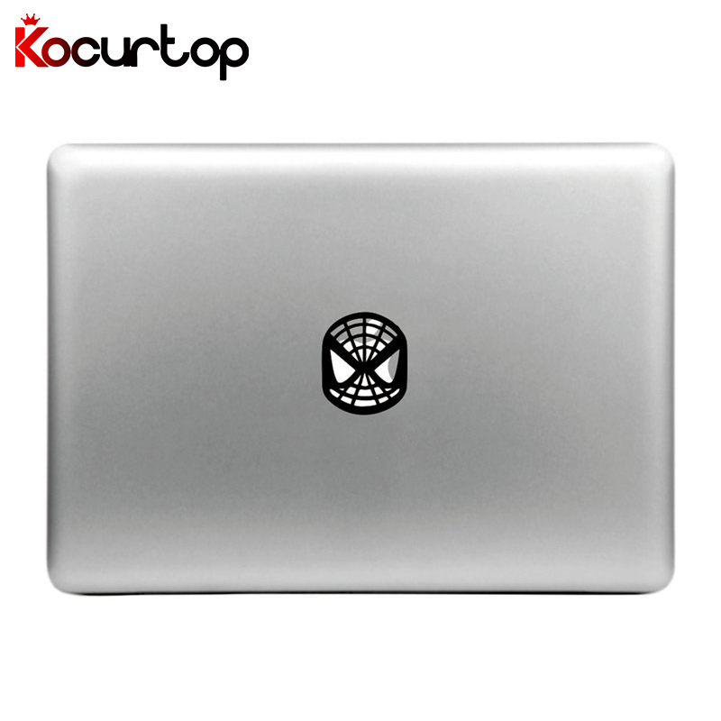 Kocurtop Funny Spiderman Laptop Sticker Vinyl Decal for Apple Macbook Pro Air 11 13 15 Inch For MacBook Laptop Skin