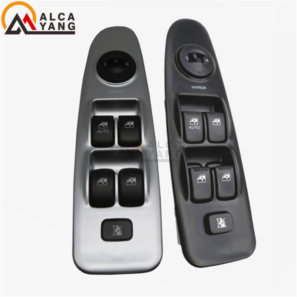 Front Left Electric Master Power Window Switch Control 93570-2D000 93570-2D100 For Hyundai Elantra 2001 2002 2003 2004 2005 2006 for hyundai elantra front left driver side master power window switch 2001 02 03 04 05 2006 93570 2d000