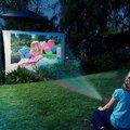 Новый 2016 портативный Домашний Кинотеатр 1080 P HD Мультимедиа LED Проектор 400LM 3D ПК AV TV VGA HDMI
