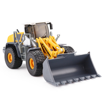Alloy 1 50 4 Wheel Loader Professional Construction Truck Diecast Model