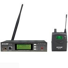 ACEMIC EM-500 профессиональный беспроводной в ухо монитор системы наушники контролировать синхронного перевода