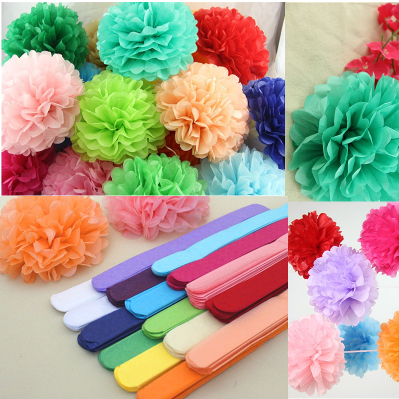 Aliexpress Buy 10pcsbag 50x66cm Tissue Paper Flower Wrapping