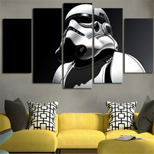 Star Wars Stormtrooper 5 Panel Home Decor Posters