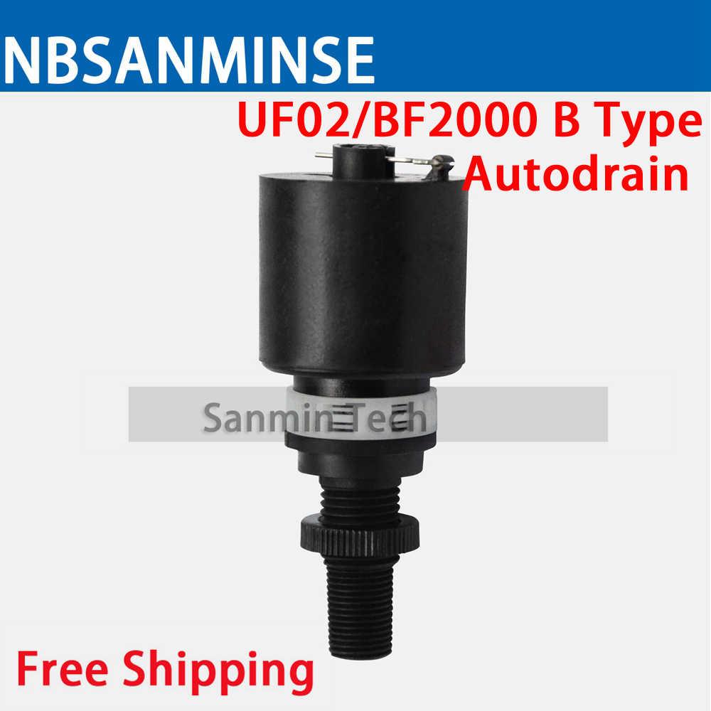 NBSANMINSE Air Compressor 1/4 3/8 1/2 3/4 1 UFRL Air Filter Regulator Oil  Water Separator Trap Filter Regulator Free Shopping