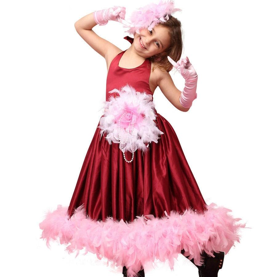 Feder hübsche kinder blumenmädchen kleider weinrot für hochzeiten baby mädchen kleider geburtstag kinder kleider party und hochzeit in Feder ...