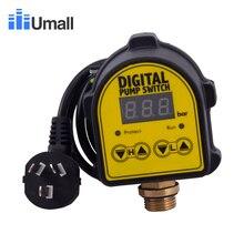 Водяной насос сенсорный переключатель цифровой переключатель давления воздушный компрессор Интеллектуальный автоматический электронный переключатель контроллер 10 бар