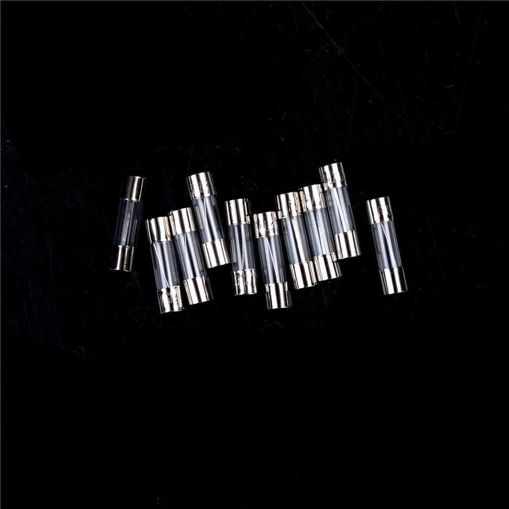 10 יח'\סט 5x20mm פתיל פעולה מהירה 1-20A הטוב ביותר מהיר מכה מהירה זכוכית גוף זכוכית חולצת סטרפלס איכות