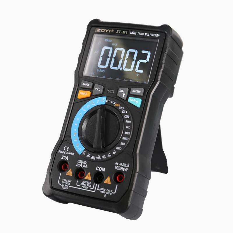 Original Manufacturer ZOYI ZT-M0 ZT-M1 ZT-X True-RMS Digital Multimeter AC DC Voltage Current Ohm Temperature MultimeterOriginal Manufacturer ZOYI ZT-M0 ZT-M1 ZT-X True-RMS Digital Multimeter AC DC Voltage Current Ohm Temperature Multimeter