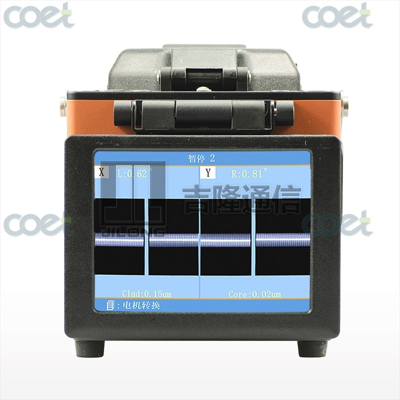 Optical Fiber Fusion Splicer Kit w/ Fiber Cleaver JILONG KL300T Fiber Fusion Splicer 0.02dB SPLICING LOSS