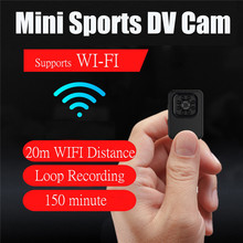 CAMSOY Mini WiFi Camera HD 1080P Wireless Cam Infrared Motion Detection Night Vision Surveillance Security Camcorder DV DVR